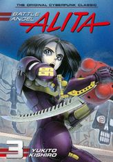 Battle Angel Alita Volume 3