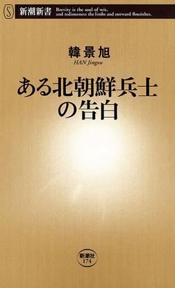 ある北朝鮮兵士の告白-電子書籍