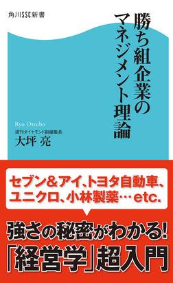 勝ち組企業のマネジメント理論-電子書籍