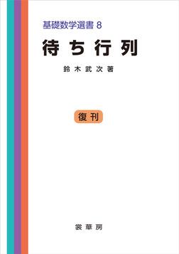 待ち行列 基礎数学選書 8-電子書籍