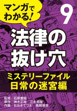 マンガでわかる! 法律の抜け穴 (9) ミステリーファイル・日常の迷宮編-電子書籍