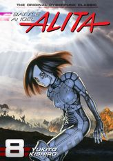 Battle Angel Alita Volume 8