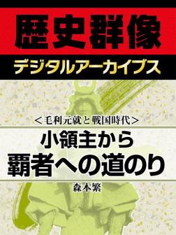 <毛利元就と戦国時代>小領主から覇者への道のり-電子書籍