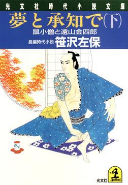 夢と承知で(下)~鼠小僧と遠山金四郎~-電子書籍