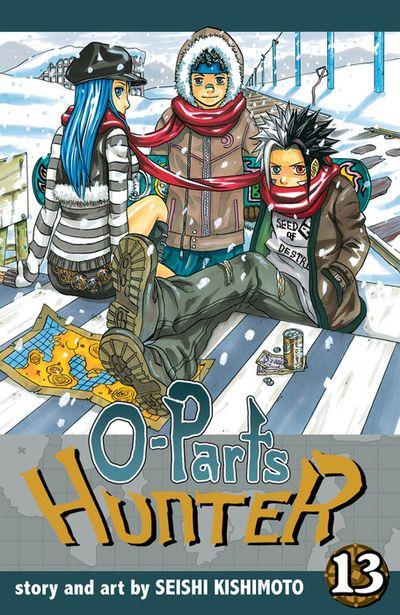 O-Parts Hunter, Vol. 13