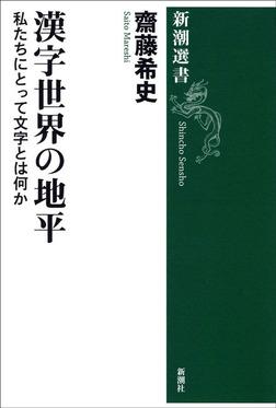 漢字世界の地平―私たちにとって文字とは何か―-電子書籍
