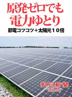 原発ゼロでも電力ゆとり 節電コツコツ+太陽光10倍-電子書籍