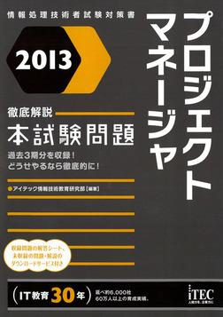2013 徹底解説プロジェクトマネージャ本試験問題-電子書籍