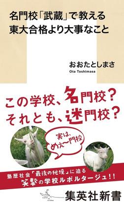 名門校「武蔵」で教える東大合格より大事なこと-電子書籍