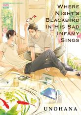Where Night's Blackbird in His Sad Infamy Sings (Yaoi Manga), Volume 1