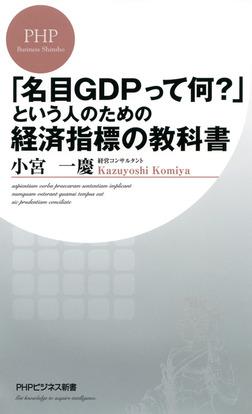 「名目GDPって何?」という人のための経済指標の教科書-電子書籍