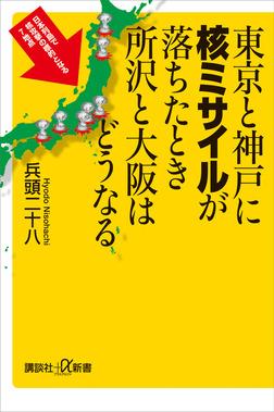 東京と神戸に核ミサイルが落ちたとき所沢と大阪はどうなる-電子書籍
