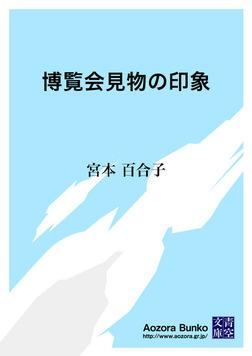 博覧会見物の印象-電子書籍