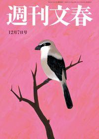 週刊文春 12月7日号