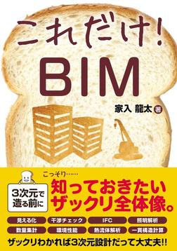 これだけ! BIM-電子書籍