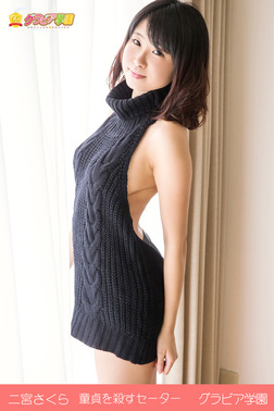 二宮さくら 童貞を殺すセーター グラビア学園-電子書籍