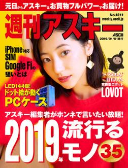 週刊アスキーNo.1211(2019年1月1日発行)-電子書籍