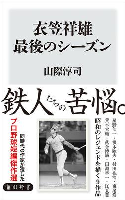 衣笠祥雄 最後のシーズン-電子書籍