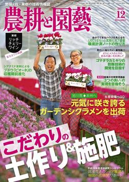 農耕と園芸2016年12月号-電子書籍