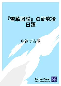 『雪華図説』の研究後日譚-電子書籍