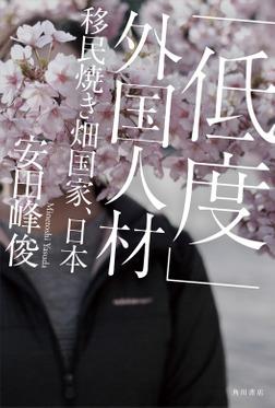「低度」外国人材 移民焼き畑国家、日本-電子書籍