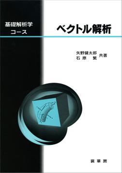 基礎解析学コース ベクトル解析-電子書籍