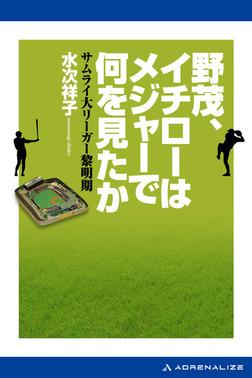 野茂、イチローはメジャーで何を見たか-電子書籍
