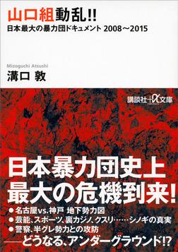 山口組動乱!! 日本最大の暴力団ドキュメント 2008~2015-電子書籍