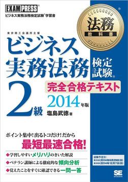 法務教科書 ビジネス実務法務検定試験(R)2級 完全合格テキスト 2014年版-電子書籍