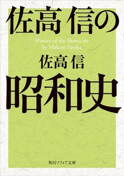 佐高信の昭和史-電子書籍