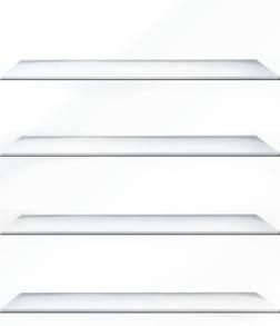 無料きせかえ本棚 『プラチナ』 【16冊収納】-電子書籍