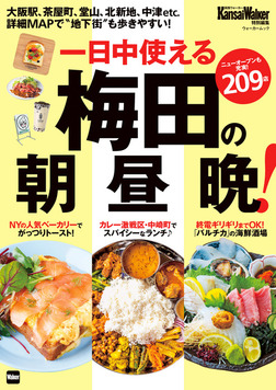 梅田の朝昼晩!-電子書籍