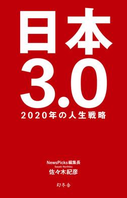 日本3.0 2020年の人生戦略-電子書籍