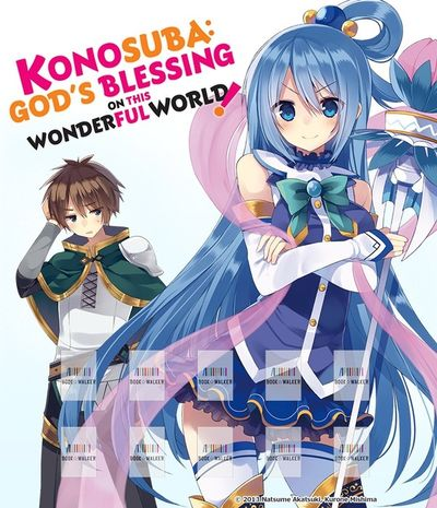 Konosuba: God's Blessing on This Wonderful World!, Vol. 1 (light novel): Bookshelf Skin [Bonus Item]