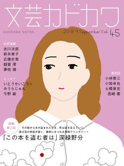 文芸カドカワ 2018年9月号-電子書籍