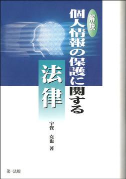 解説個人情報の保護に関する法律-電子書籍