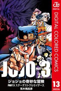 ジョジョの奇妙な冒険 第3部 カラー版 13