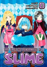 That Time I Got Reincarnated as a Slime Volume 10
