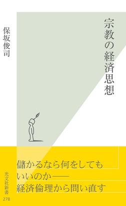 宗教の経済思想-電子書籍