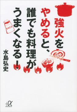 強火をやめると、誰でも料理がうまくなる!-電子書籍