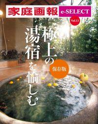 家庭画報 e-SELECT Vol.13 極上の「湯宿」を愉しむ [保存版][雑誌]