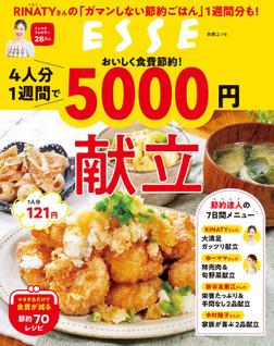 おいしく食費節約!4人分1週間で5000円献立-電子書籍