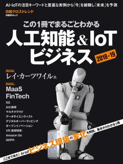 この1冊でまるごとわかる 人工知能&IoTビジネス2018-19-電子書籍