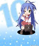 Lucky★Star 10th Anniversary: Bookshelf Skin [Bonus Item]
