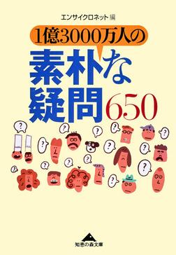 1億3000万人の素朴な疑問650-電子書籍