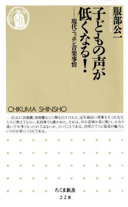 子どもの声が低くなる! ――現代ニッポン音楽事情-電子書籍