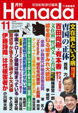 月刊Hanada2019年11月号-電子書籍