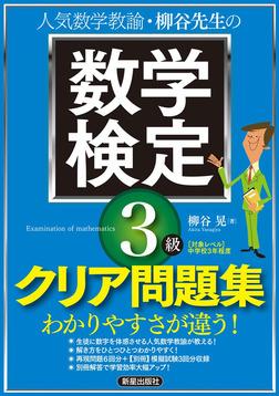 柳谷先生の 数学検定3級 クリア問題集-電子書籍