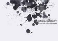 ナイトメア公式ツアーパンフレット 2011 TOUR 2011-2012 Nightmarish reality TOUR FINAL@NIPPONBUDOKAN