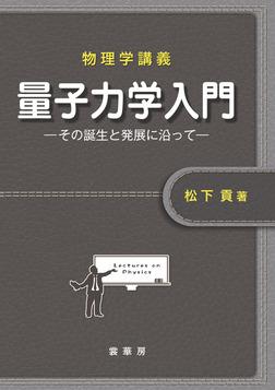 物理学講義 量子力学入門 その誕生と発展に沿って-電子書籍